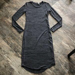 Midi body on dress